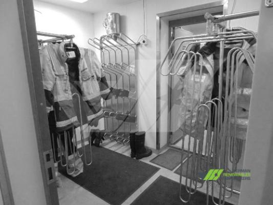 Work Cloth Drying System