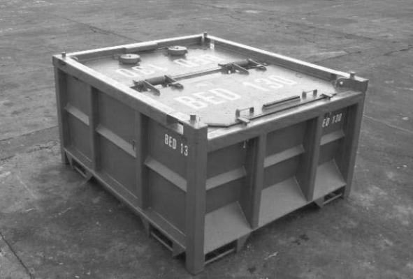 Offshore Equipment Mud Skips